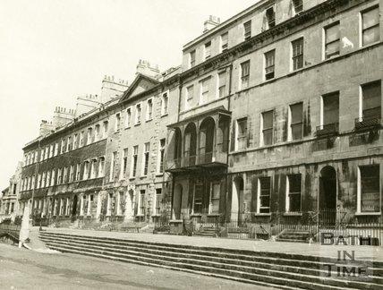 Portland Place, Bath 1940s