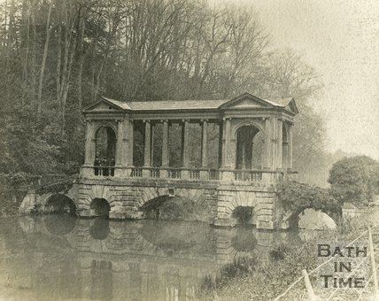 The Palladian Bridge, Prior Park, Bath c.1900