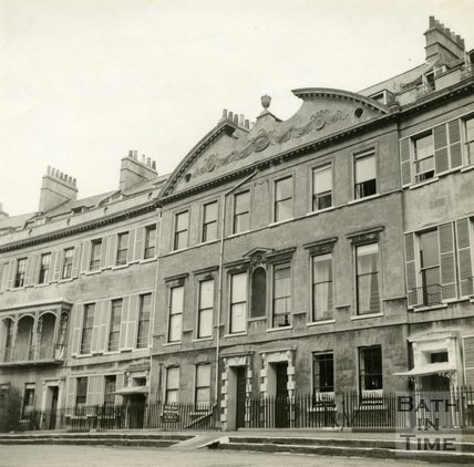 Somerset Place, Bath c.1945