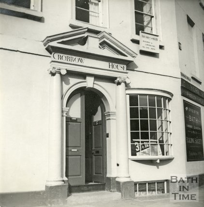 Crowbrow House (now Bridgwater House), 2, Terrace Walk, Bath c.1945