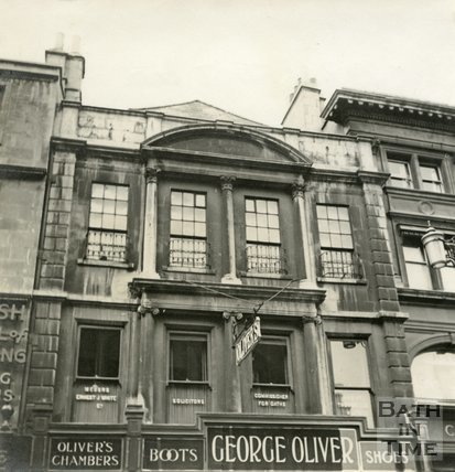 George Oliver 39 S Shoe Shop 24 High Street Bath By 53181 At Bath In Time
