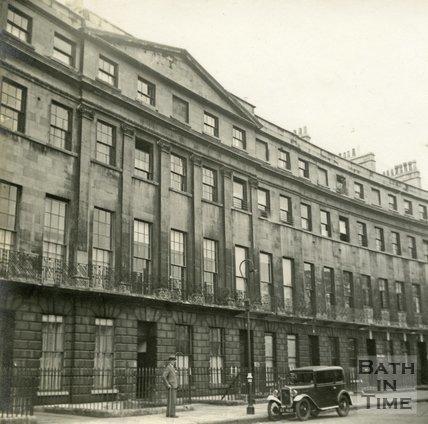 Norfolk Crescent, Bath c.1945