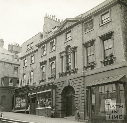 8 to 11, Fountain Buildings, Lansdown Road, Bath c.1945