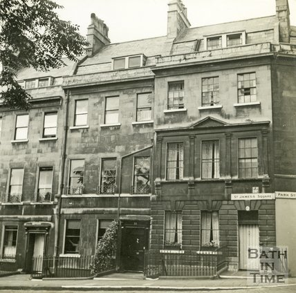 11 & 12, St. James's Square, Bath c.1945