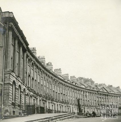 Camden Crescent, Bath c.1945