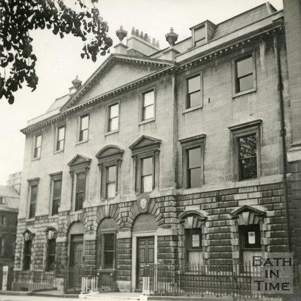 The British Legion offices, 15, Queen Square, Bath c.1945