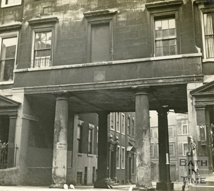 Pierrepont Place, Pierrepont Street, Bath c.1945