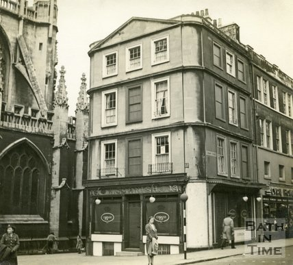 W. Cornish, butcher, 13, Cheap Street, Bath c.1945