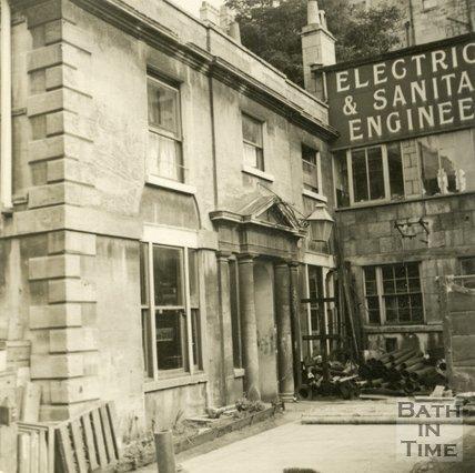 Spring Gardens House, Spring Gardens Road, Bath c.1945
