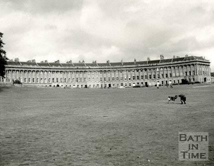 The Royal Crescent, Bath c.1963