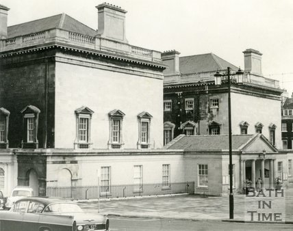 The Upper Assembly Rooms, Bath c.1963