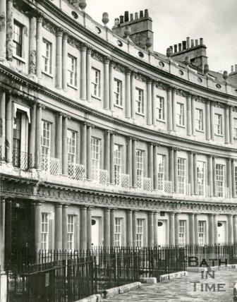 The Circus, Bath c.1963