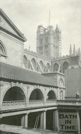 The Roman Great Bath, Bath 1905