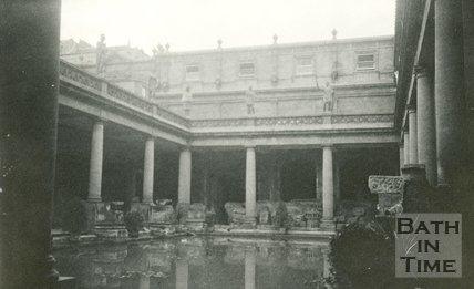 The Roman Great Bath, Bath 1905