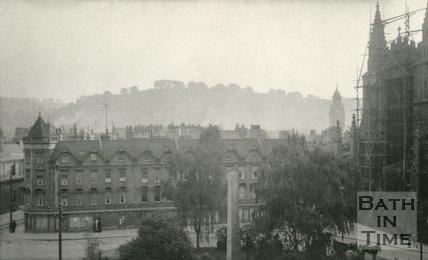 Orange Grove from the Empire Hotel, Bath 1905