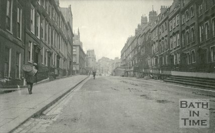 Oxford Row and Belmont, Lansdown Road, Bath 1905