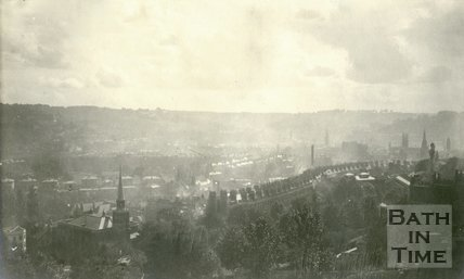 View of Bath from Camden Crescent 1905