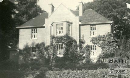 Jamie Dickinson's house, Teresia, North Road, Bath c.1930?