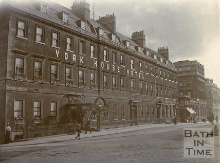 The York House Hotel, George Street, Bath c.1903