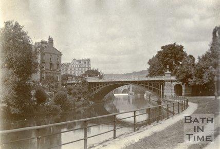 North Parade Bridge, Bath c.1903
