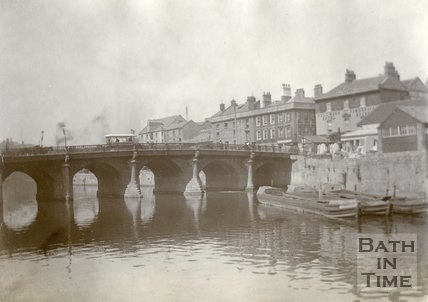 The Old Bridge, Bath c.1903