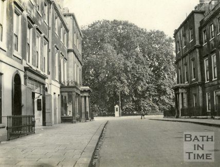 View of the Circus from Brock Street, Bath c.1923