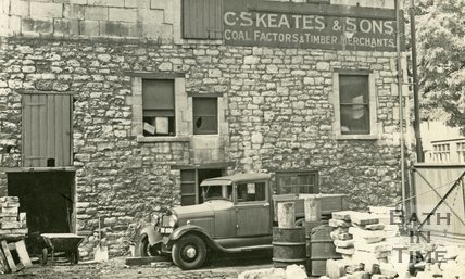 C.S. Skeates & Sons, coal factors and timber merchants, Upper Bristol Road, Bath c.1930