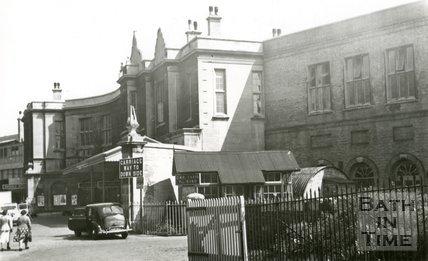 Bath Spa station, Bath 1953