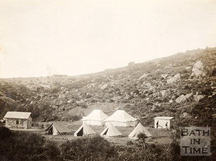 General Ellison camp on the Island of Imbros (G̦k̤eada), Turkey