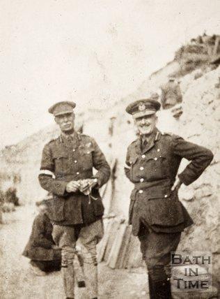 Brigadier General C de Rougemont (RHA) at Gallipoli