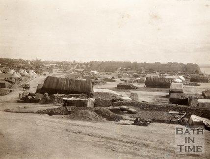 Sedd el Behr, Gallipoli with French camp in foreground