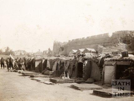 French camp, Sedd el Behr, Gallipoli
