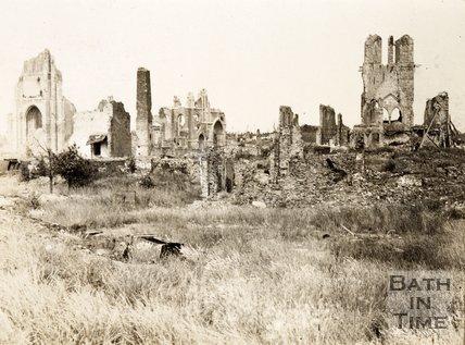 Ruins of Ypres, Belgium