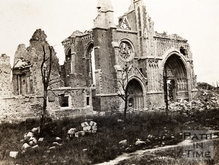Cathedral ruins, Ypres, Belgium