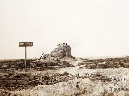 Ruin, Gheluvelt, nr Ypres, Belgium