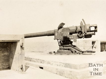 German gun on the Mole, Zebrugge Belgium
