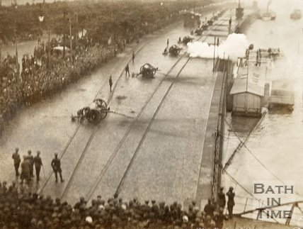 Firing of the Peace Salute, Koln, 27th June 1919, 6pm