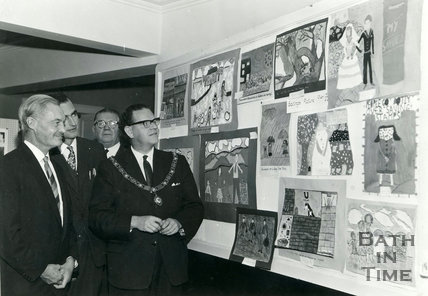 Opening of the National Savings Exhibition, Bath, 28 October 1966
