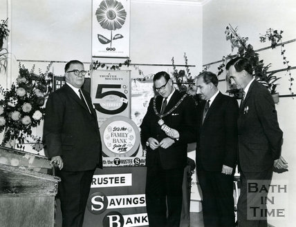 Opening of National Savings Exhibition, Bath, 28 October 1966