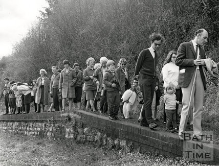 European Conservation Year, 1970, Conservation year walk, Midford, Bath, May 7th 1970