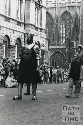Monarchy 1000 Procession, Richard the Lionheart, May 1973, Bath