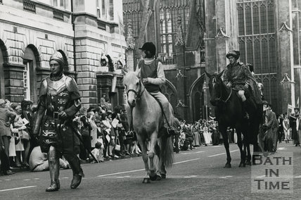 Monarchy 1000 Procession Henry VII (on foot) May 1973, Bath