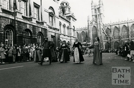 Monarchy 1000, Procession Henry VIII and his wives, May 1973, Bath