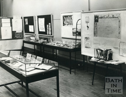 1000 Years of Change Exhibition Townswomen's Guild exhibition, Reference Library Bath, 11 May 1973 - 2 June 1973