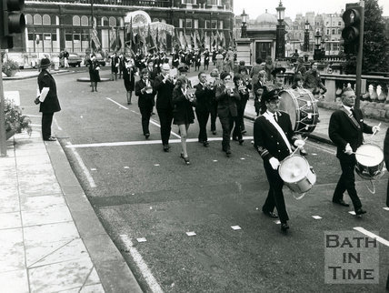 Royal British Legion Parade, November 1973, Bath
