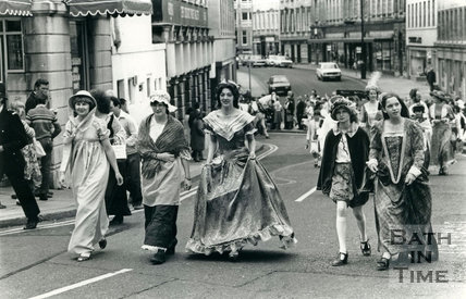 The recreation of the Bath Historical Pageant, 1981