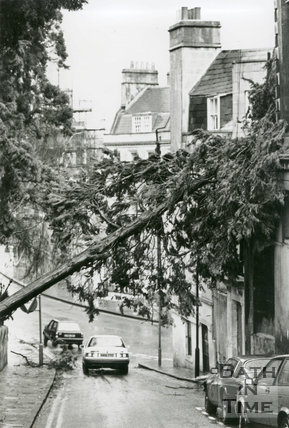 Storm Damage of January 25th 1990