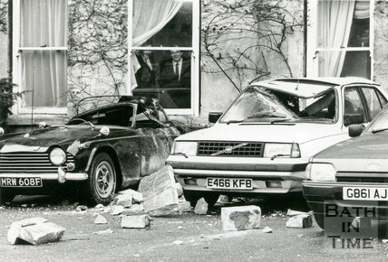 Storm Damage of 25th January 1990
