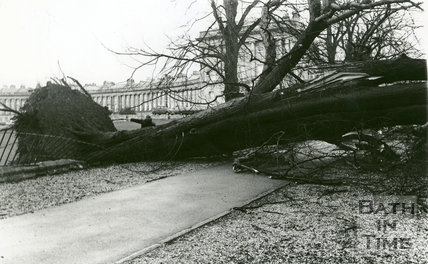 Storm Damage January 25th, 1990