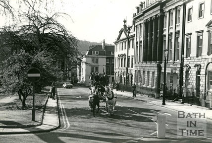 Silver Jubilee 1977 Stagecoach, Queen Square, Bath